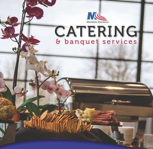 mcaramark catering menu cover